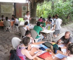 Outdoor classroom in Vera Cruz